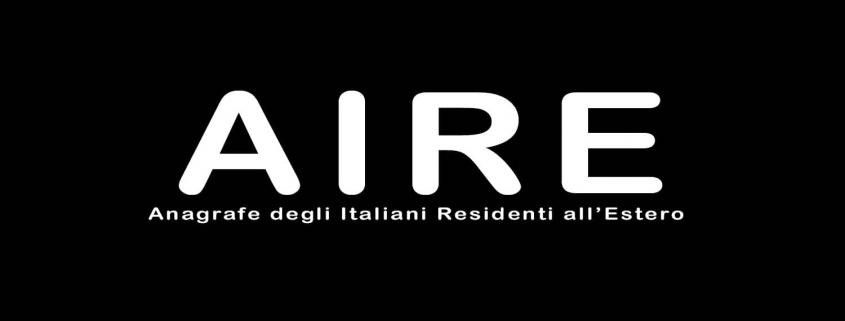 Aire Anagrafe Italiana Residenti Estero