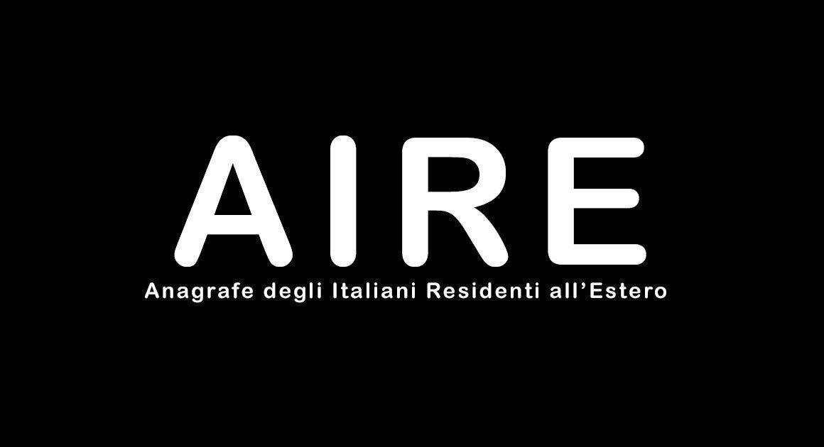 AIRE -Anagrafe degli Italiani all'Estero