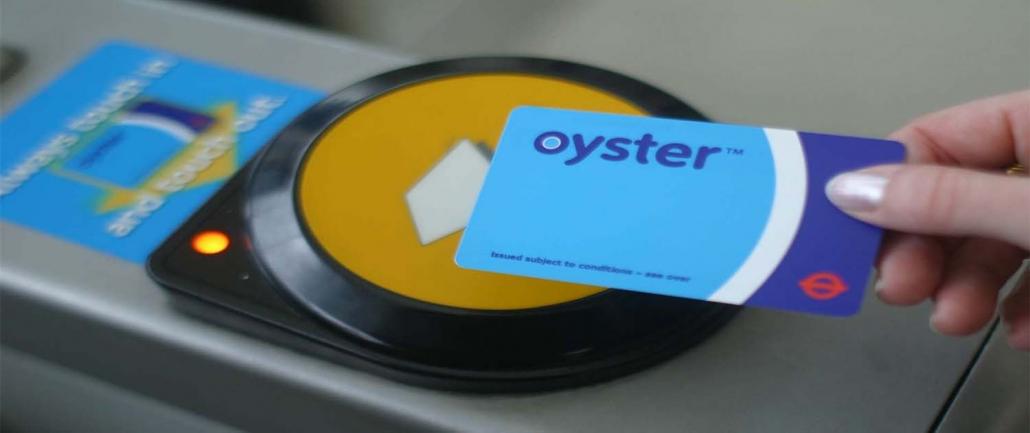 Oyster Card, trasporti Londra