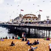 Lungo mare Brighton porticciolo