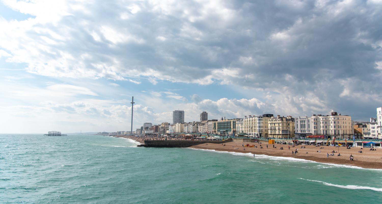 Brighton lungo mare