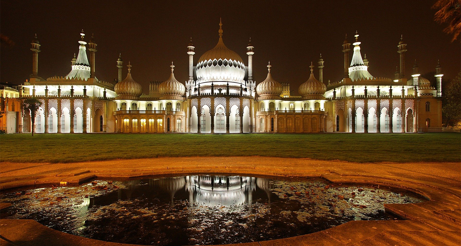 Brighton piazza del Royal Pavilion