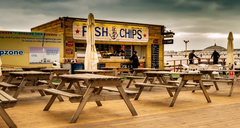 Brighton ristoranti lungo mare