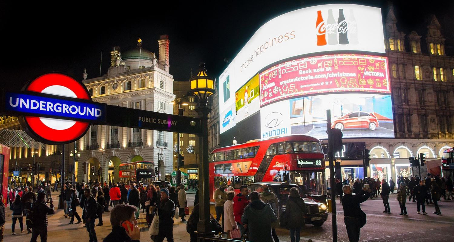 Londra Piccadilly Circus