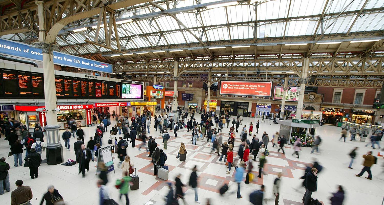 Londra Victoria Station