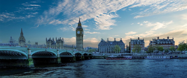Londra vista dal Tamigi