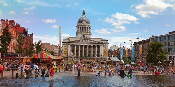 Nottingham ricerca alloggio per città
