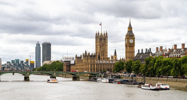 Londra Westminster foto del Big Ben