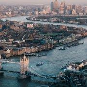 Londra vista sul Tamigi
