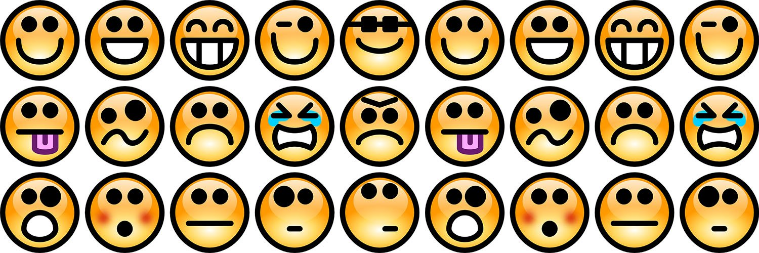 Chat room home page smiley icons