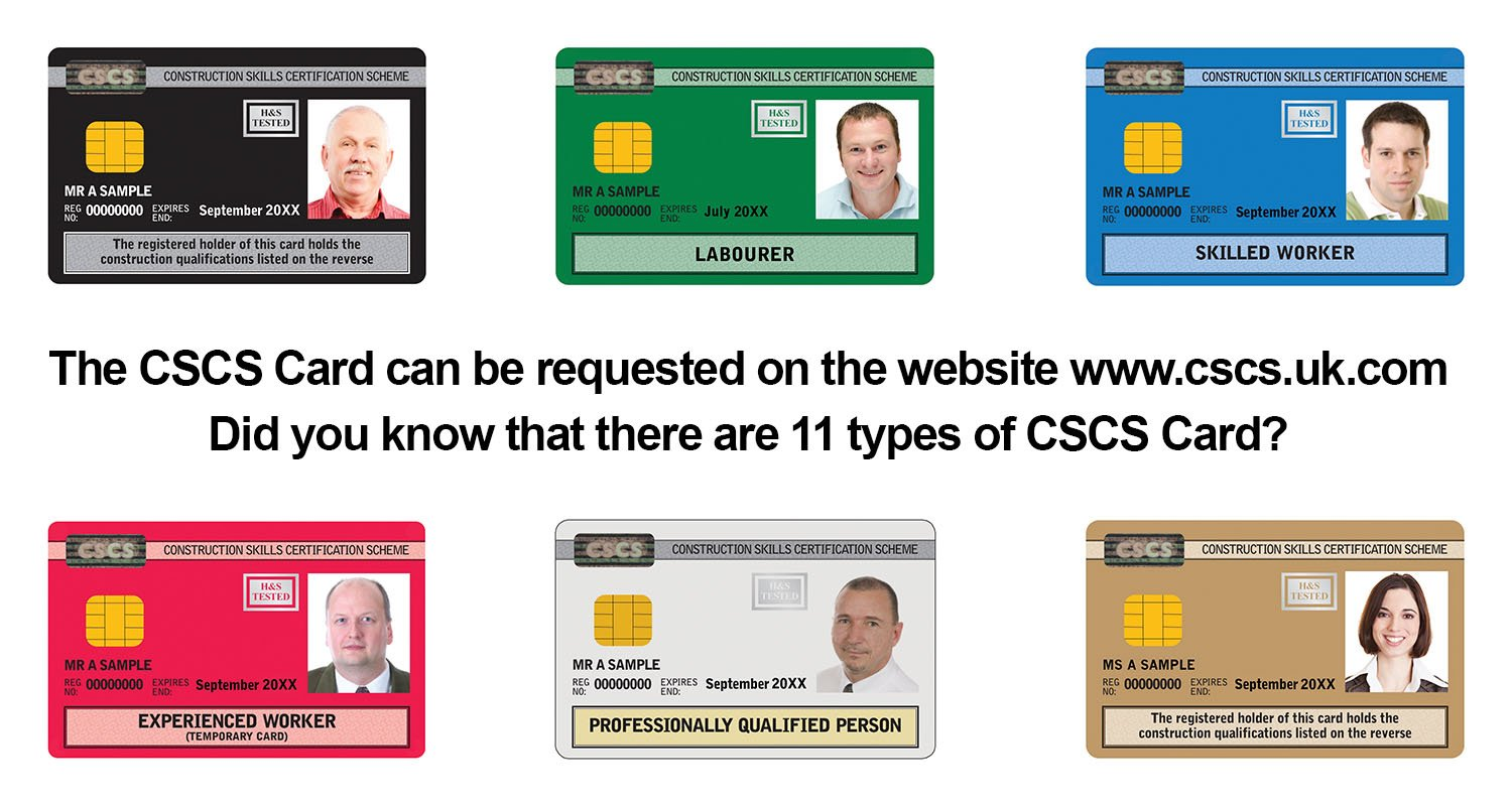 Types of CSCS Card