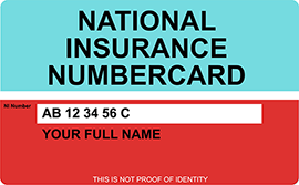 NIN card
