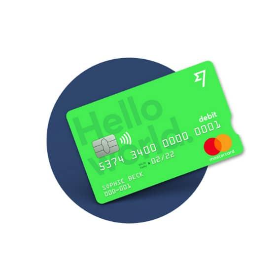 TransferWise carta di debito verde