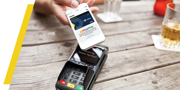 TransferWise mobile contactless